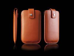 afaee12ec5c Línea de fundas de cuero para móviles de Bellini