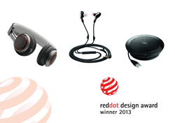 jabra recibe tres premios red dot 2013