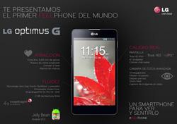 La velocidad y la gestión de la agenda distinguen al Optimus G de LG