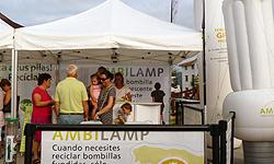 ambilamp recoge ms de 7000 bombillas durante la vuelta ciclista a espaa 2011