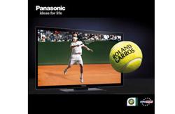 los televisores en 3d de panasonic retrasmitirn en directo el open de tenis de francia 2011