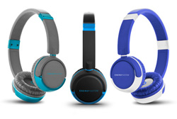 auriculares vestidos de azul de energy sistem