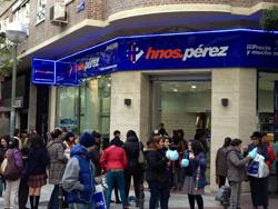 hermanos prez inaugura una nueva tienda en madrid