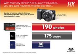 sony lanza la memory stick prohg duo hx