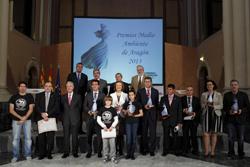 bsh electrodomsticos espaa recibe el xv premio medio ambiente aragn 2013
