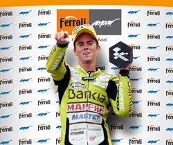 ferroli nmero 1 gracias a la victoria de nico terol en 125cc