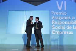 bsh electrodomsticos espaa recibe el vi premio aragons a la responsabilidad social de las empresas