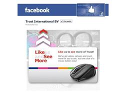 trust se adentra en el mundo facebook