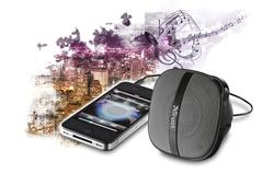 trust presenta el altavoz rocca para smartphones tan pequeo como prctico