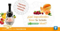 yonanas propone un nuevo concurso en facebook