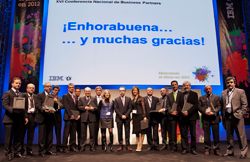 tech data premiado por ibm como mejor partner de 2011