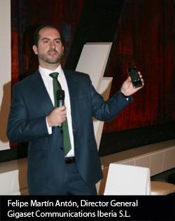 gigaset presenta su primer telfono tctil para el hogar