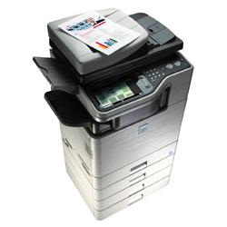 sharp exhibe sus impresoras multifuncin y los monitores lcd en el cebit 2012