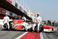 panda security ser patrocinador de la escudera hispania racing de f1