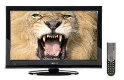 nevir presenta un tv lcd de 22