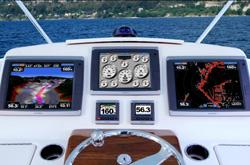 las embarcaciones de tiara yachts sern equipadas por garmin