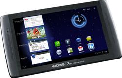 archos presenta la archos 70b internet tablet