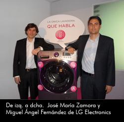 lg presenta la primera lavadora que habla y notifica sus averas