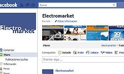 electromarket ahora disponible en facebook