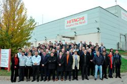ms de 50 representantes de los principales clientes de hitachi visitan su fbrica europea en espaa