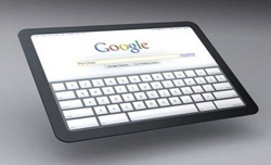 google lanzar una tableta en 2012