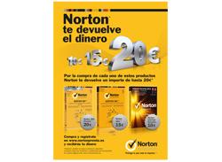 norton inicia una promocin de reembolso de dinero en tres antivirus