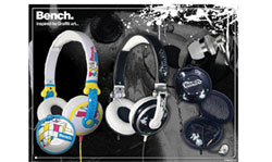 la nueva gama de auriculares de bench sern distribudos por telcom
