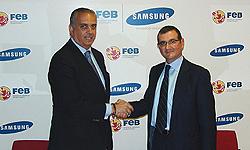 samsung se convierte en proveedor oficial de la federacin espaola de baloncesto
