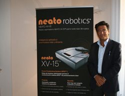 neato robotics presenta su robot aspiradora en madrid