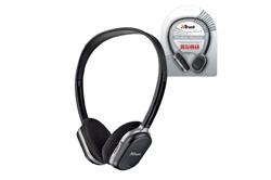 los auriculares freewave wireless headsets de trust cuentan con conexin inalmbrica