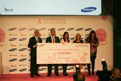 samsung ayuda a la lucha contra el cncer