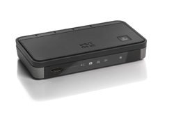 smart switch de one for all conecta hasta 4 dispositivps hdmi al televisor