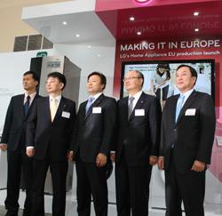 lg muestra a la prensa internacional su nueva planta de fabricacin en polonia