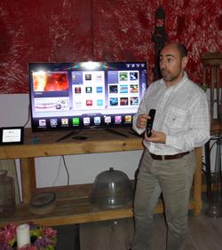LG presenta la nueva generación de Cinema 3D Smart TV en Madrid