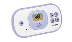 babytalker 1020 bu de topcom cuenta con un alcance de hasta 2 kilmetros