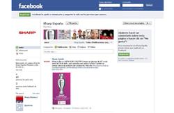 el facebook de sharp ya est disponible en espaol