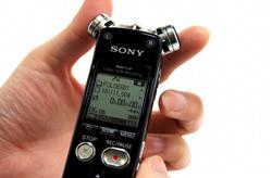 sony lanza sus nuevas gamas de grabadoras de voz