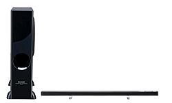 sharp lanza la barra de sonido ms delgada del mercado