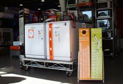 las tiendas de expert ya disponen de contenedores de ambilamp