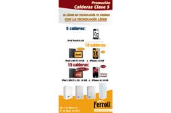 ferroli presenta la nueva promocin de calderas murales clase 5