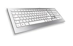 cherry presenta su nuevo teclado strait corded keyboard