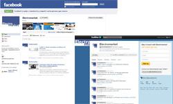 electromarket ahora tambin en las redes sociales
