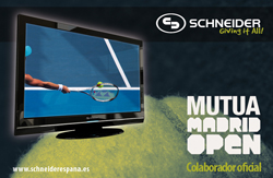 schneider colaborador oficial del x open de madrid 2011