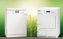 miele lanza una promocin en la compra de su lavavajillas g 5830 sc brws y su secadora t8826 wp