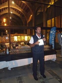 garmin deslumbra en el museo martimo de barcelona