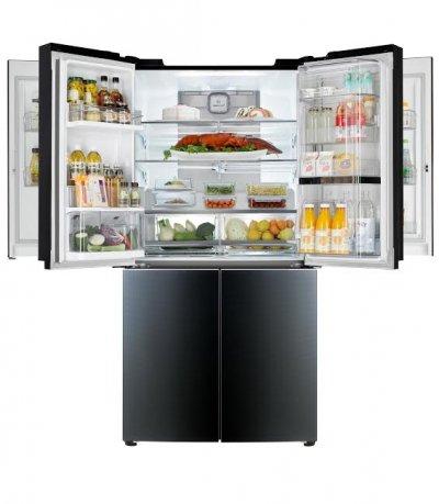 lg avanza en el ces su ltimo frigorfico de gran capacidad con doble sistema doorindoor