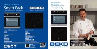 beko lanza al mercado sus nuevos conjuntos de horno y placa independientes
