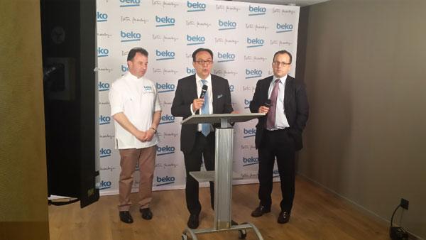 beko presenta sus nuevos hornos y frigoriacuteficos en barcelona