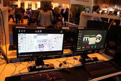benq acude al madrid games week con su extensa gama de monitores gaming