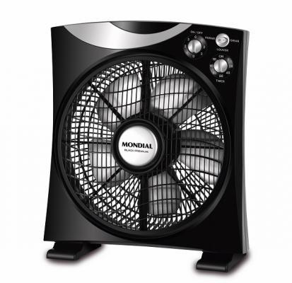 box fan black premium air circulator de mondial la opcioacuten para combatir el calornbsp